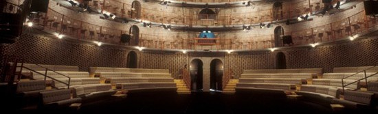 Veduta interna Teatro Studio di Milano