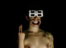 Collettivo cinetico/Francesca Pennini :: D 2/2 monoscritture retiniche sull'oscenità dei denti