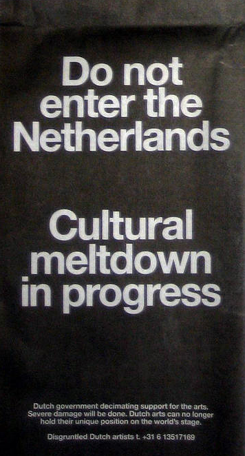 do not enter the netherlands...