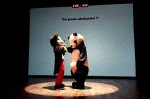 Teatro Sotterraneo in L'origine della specie - foto di Federica Giorgetti