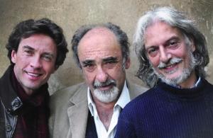 Alessio Boni, Alessandro Haber e Gigio Alberti