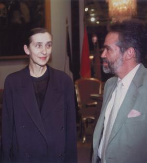 Neumann con Pina Bausch