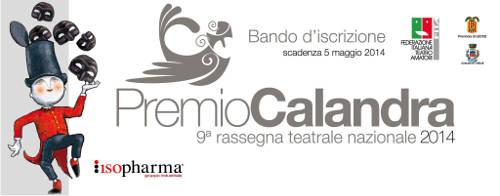 grafica logo del premio calandra 2014