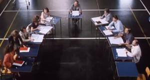 frame dal film La scuola (1995)