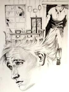 hermanis Kaspar Hauser illustrazione di Serena de Carolis