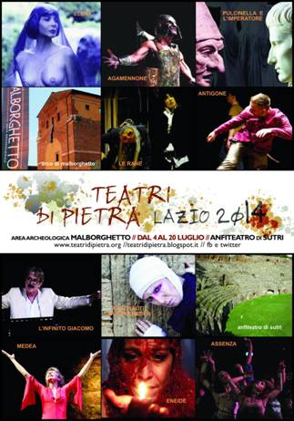 Teatri di pietra lazio 2014