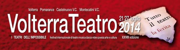 volterra Teatro Festival 2014 programma