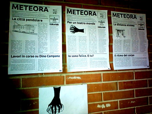 zoom Festival , il giornale: METEORA. Di Teatro e Critica LAB