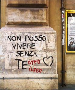 Il motto del teatro Eliseo per la stagione 2014/2015