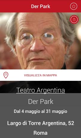 peter stein argentina teatro roma der park