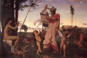 Anacreonte, Dioniso e Eros