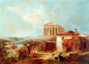 Acropoli di William James Muller, 1839