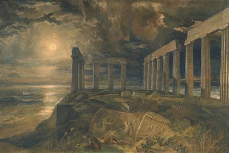 William Turner, The Temple of Poseidon at Sunium