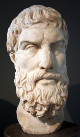 Busto di Epicuro, immagine da Wikipedia