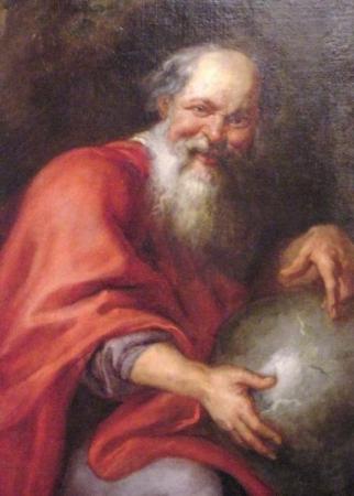 Democrito, Peter Paul Rubens, 1635