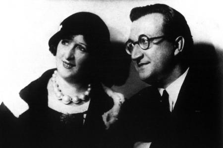 Vittorio Podrecca con la moglie Cissie Vaughan