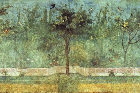 Artemisia Gentileschi, Il giardino.