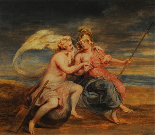 Peter Paul Rubens - Alegoría de la Fortuna y la Virtud. Info: https://commons.wikimedia.org/wiki/File:Peter_Paul_Rubens_-_Alegor%C3%ADa_de_la_Fortuna_y_la_Virtud_-_Google_Art_Project.jpg
