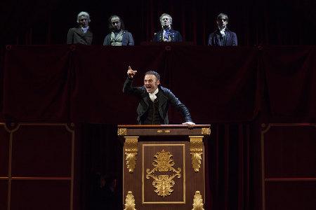 La morte di Danton. Di Georg Büchner. Regia di Mario Martone - foto www.teatrostabiletorino.it