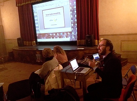 Simone Pacini interviene su Social Media Storytelling