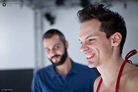 Gabriele Falsetta e Dante Antonelli - foto di Chiara Ernandes