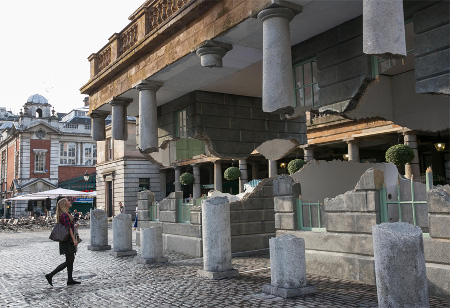 Alex Chinneck Covent Garden Building