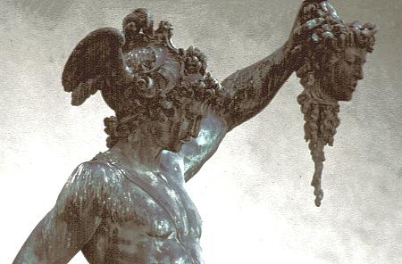 Perseo con la testa di Medusa