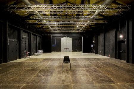 Una sala del Teatro India, foto www.teatrodiroma.net