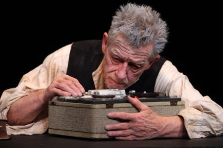 John Hurt in Krapp's Last Tape - foto Richard Perry / The New York Times