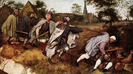Parabola dei ciechi, Pieter Bruegel il Vecchio, 1568 circa