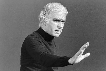 Giorgio Strehler. Foto Archivio Piccolo Teatro