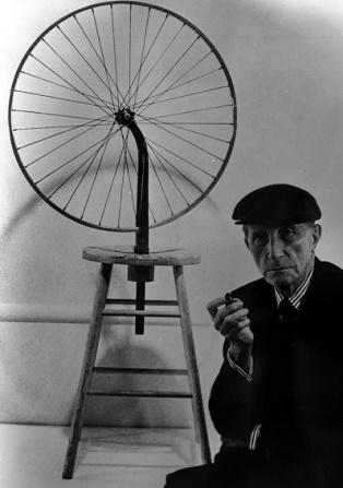 Marcel Duchamp. Ruota di bicicletta. 1913.