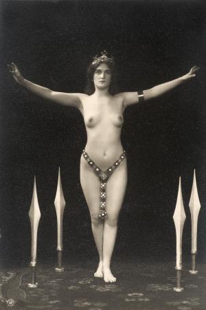 Olga Desmond, 1908 - foto di Otto Skowranek