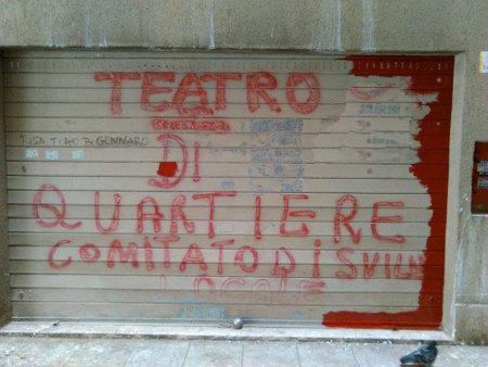 foto pagina Facebook  Teatrocittà Centro di ricerca teatrale e musicale di Torrespaccata