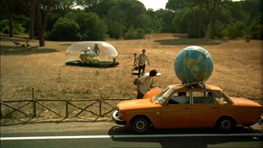 L'estate romana, frame dal film.