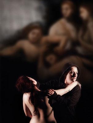 """Licia Lanera """"Orgia"""".  2 Dicembre. Foto www.teatrostudioscandicci.it/"""