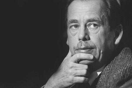 Vaclav Havel - foto di Roger Boyes