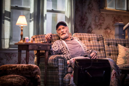 Ed Harris in Buried Child, Trafalgar Studios, photo Johan Persson
