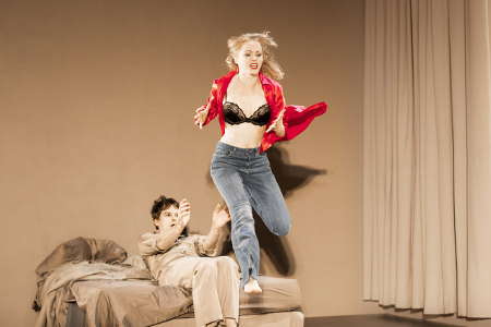 LAZARUS - Michael C. Hall (Newton), Amy Lennox (Elly) Credity Jan Versweyveld