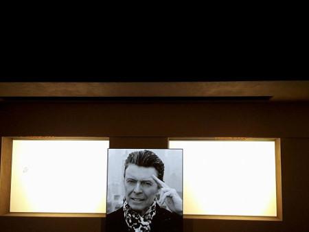Il saluto di Bowie. Al termine dello show, sullo schermo al centro della scena appare questa foto. Ph Carla Di Donato