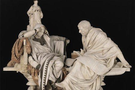 Risultati immagini per statue filosofi antichi che parlano