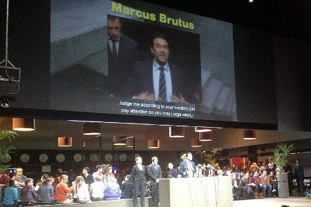 The Roman Tragedies / Julius Ceasar di Ivo Van Hove