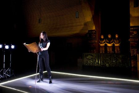Ermanna Montanari in Rosvita, 2009