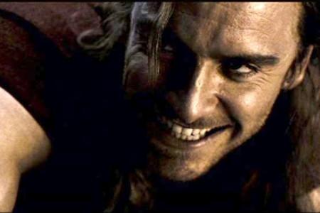 """Michael Fassbender in """"300"""""""