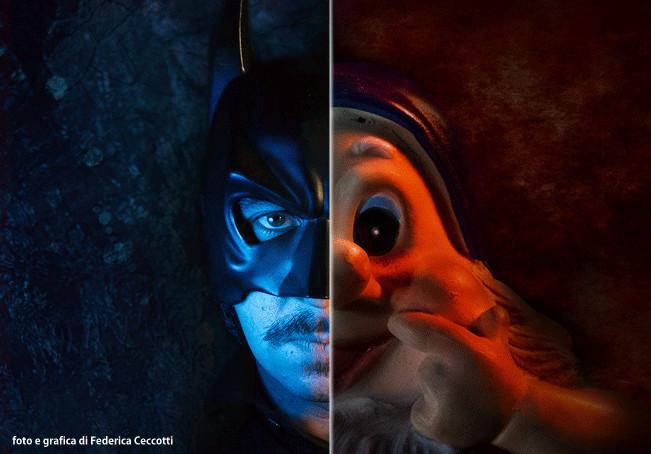 Batman e Nano Egidio - foto di Federica Ceccotti