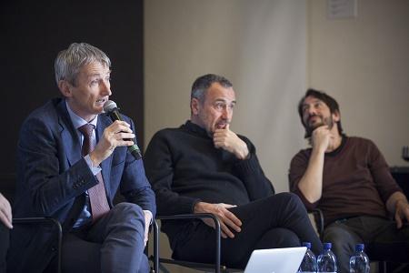 Pier Francesco Pinelli, Giorgio Barberio Corsetti, Marco Foschi