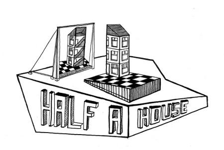 il logo del progetto Half a House