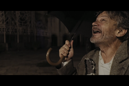 Totò e Vicé film di Umberto De Paola e Marco Battaglia. Con Enzo Vetrano e Stefano Randisi. Sul testo di Franco Scaldati